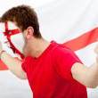 English flag portrait - 图库照片