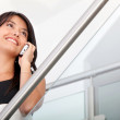 Business woman on the phone — Stock Photo #7769439