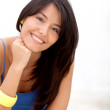 Casual woman smiling — Stock Photo #7769447