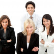 Business group smiling — Stock Photo #7769514