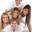 Happy group of friends — Stock Photo #7769546