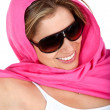 Woman with sunglasses — Stock Photo #7769711
