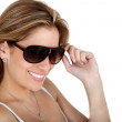 Woman with sunglasses — Stock Photo #7769714