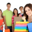 Shopping woman — Stock Photo #7769859