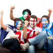 Patriotic group of — Stock Photo