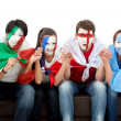 Stock Photo: Patriotic group of