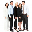 Business team isolated — Stock Photo #7769884