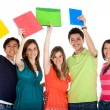 Happy group of students — Stock Photo #7769985