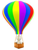 3D hot-air balloon — Stock Photo