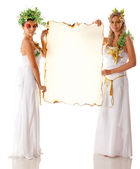Greek goddesses — Stock Photo
