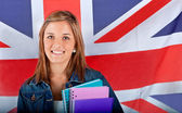 English female student — Photo