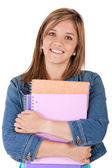 Teenage female student — Stock Photo