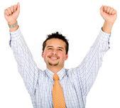 Business man - success — Stock Photo