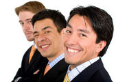 Informal Business team — Stock Photo
