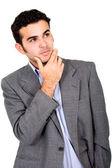 Business man pensive — Stock Photo