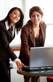 Female business partners — Stock Photo