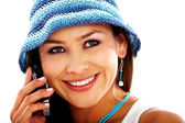 Telephone communications — Stock Photo