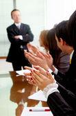 Business meeting success — Stock Photo