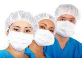 Medical team — 图库照片