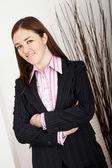Business woman portrait — Fotografia Stock