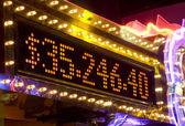Casino big price announcement — Stock Photo
