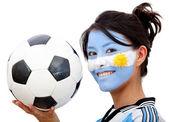 Argentinean football fan — ストック写真