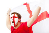 English flag portrait — Stock Photo