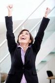 úspěšná podnikatelka — Stock fotografie