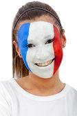 法国女人肖像 — 图库照片