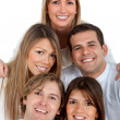 Happy group of friends — Stock Photo #7770027