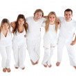 happy group of friends — Stock Photo #7770037