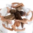 Group of hugging - Stock Photo
