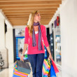 Shopping woman walking — Stock Photo #7770265