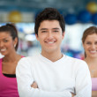 Group of athletic — Stock Photo