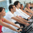 Doing spinning doing spinning — Stock Photo