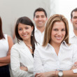 Business group at the office — Stock Photo #7770402