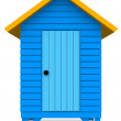 Stock Photo: Beach hut
