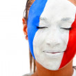 French woman portrait — Stockfoto