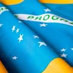 Brazilian flag — Stock Photo #7770671