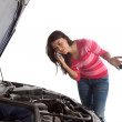 Stock Photo: Car trouble