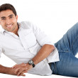 Handsome man smiling — Stock Photo #7770829