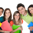 Group of students — Stock Photo #7770927