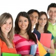 Group of students — Stock Photo #7770929