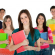 Group of students — Stock Photo #7770935