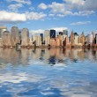 Foto Stock: New York city skyline