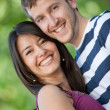 Stock Photo: Beautiful couple portrait