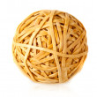 Stock Photo: Rubber band ball