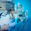 Abstract business background — Stock Photo