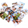 Family photos — Stockfoto