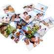 Family photos - Stock Photo